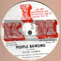 "KIM-12""-Original Press-People Bawling + Zion Train / David Jahson"