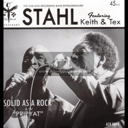 """Angel City Records-7""""-Solid As A Rock + Pripyat / Stahl Feat Keith & Tex"""