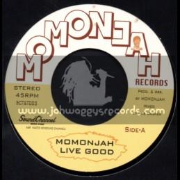 "Momonjah Records-7""-Live Good + Collie Dog / Momonjah"