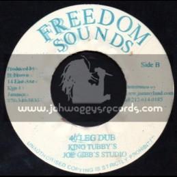 "Freedom Sounds-7""-40 Leg / Bunny Dimino"