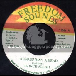 "Freedom Sounds-7""-Rufruf Way A Head / Prince Allah"