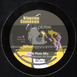 """Kingston Connexion Dub Plates-10""""- Lord Of Lords / Prince Hammer"""