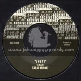 "Archive Recordings-7""-Unity / Sugar Minott"