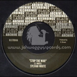 "Archive Recordings-7""-Stop The War / Sylvan White"