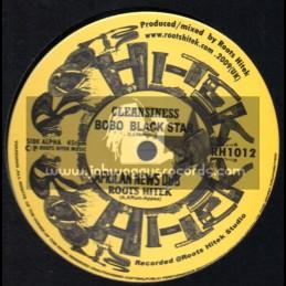 """Roots Hi Tek-10""""-Cleansiness / Bobo Black Star"""