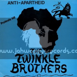 Twinkle Brothers-Lp-Anti Apartheid / The Twinkle Brothers
