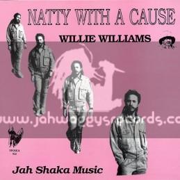 Jah Shaka Music-LP-Natty With A Cause / Willie Williams