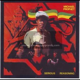 Island Records-Lp-Serious Reasoning / Michael Prophet