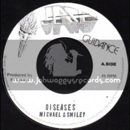 "Jah Guidance-7""-Diseases / Michael & Smiley"