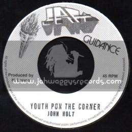 "Jah Guidance-7""-Youth Pon The Corner / John Holt"