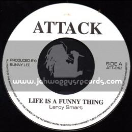 """Attack-7""""-Life Is A Funny Thing / Leroy Smart + Psalms / Trinity"""