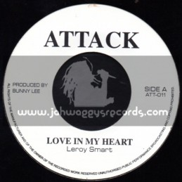 "Attack-7""-Love In My Heart / Leroy Smart"