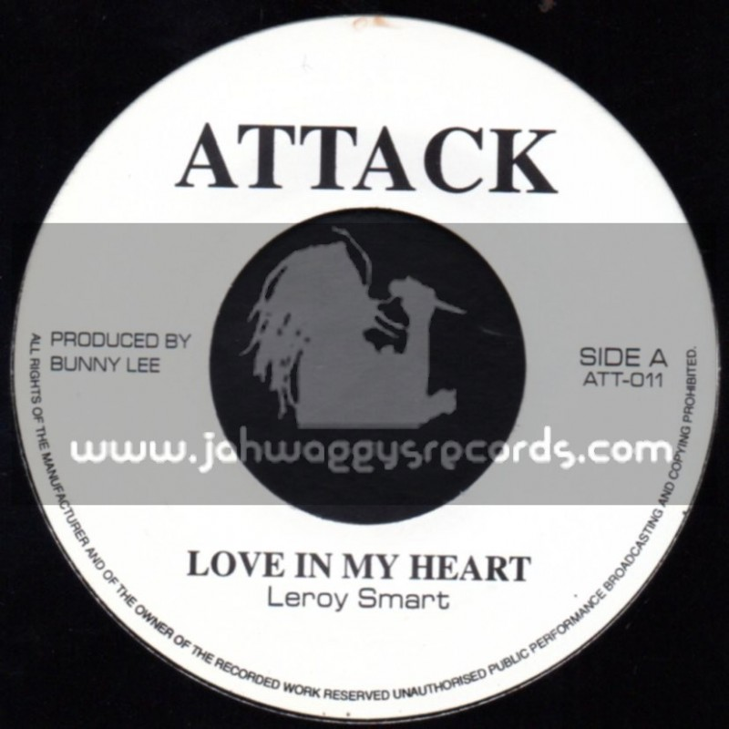 """Attack-7""""-Love In My Heart / Leroy Smart"""