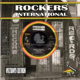 """Rockers International-7""""-Simple Things / Tetrack"""