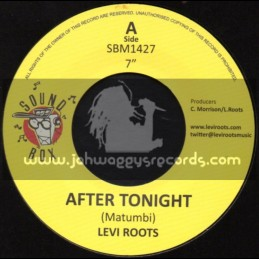 """Sound Box-7""""-After Tonight / Levi Roots"""