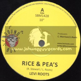 "Sound Box-10""-Rice And Peas / Levi Roots"