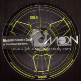 "Moonshine Recordings-12""-Cool Down Me Nerves / Madplate Sound Ft Dan I"