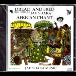 Jah Shaka Music-CD-African Chant / Dread & Fred -Iron Works PT 3