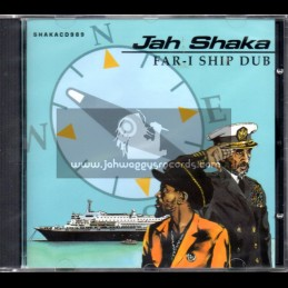 Jah Shaka Music-CD-Far I Ship Dub / Jah Shaka