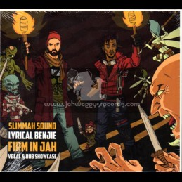 Roots Tribe-CD-Firm In Jah / Lyrical Benji - Slimmah Sound