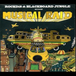 Blackboard Jungle-CD-Musical Raid / Rockdis & Blackboard Jungle
