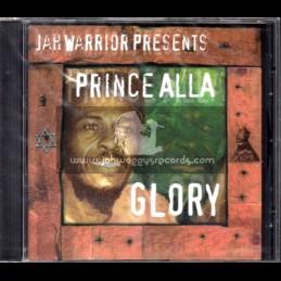 Jah Warrior-CD-Glory / Prince Allah