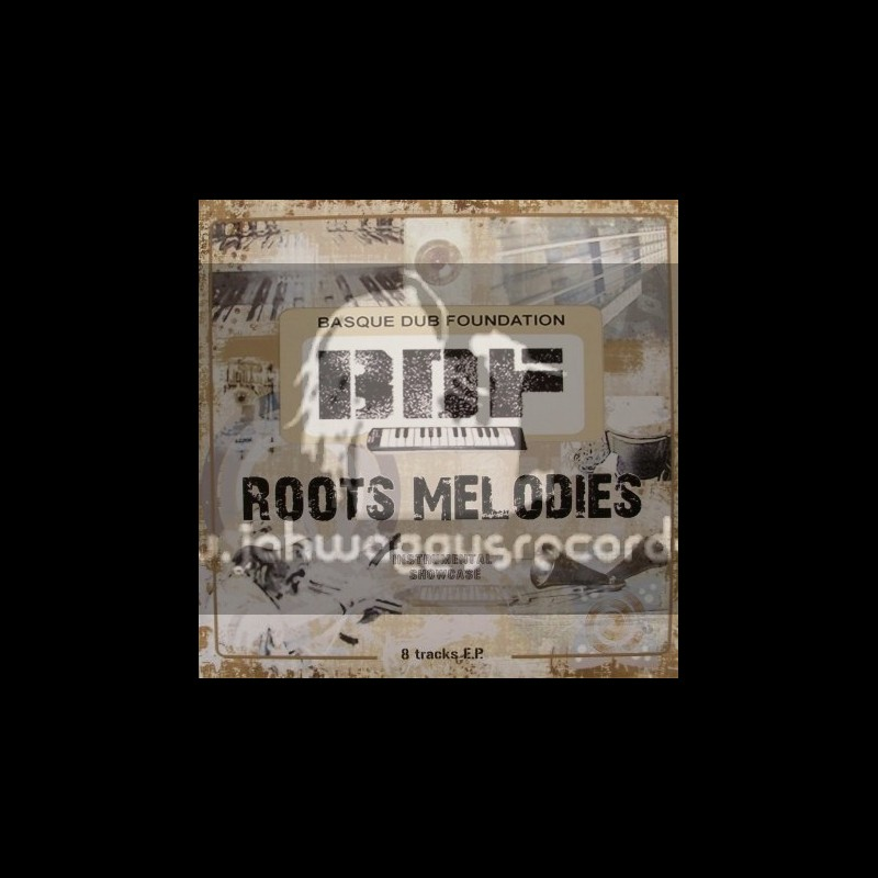 """Massive Sound Records-12"""" 8 Track-EP-Roots Melodies / B D F Instrumental Showcase"""