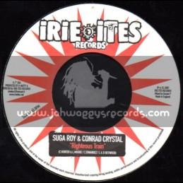 "Irie Ites Records-7""-Righteous Train / Suga Roy & Conrad Crystal"