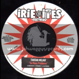 "Irie Ites Records-7""-So Many Problems / Fanton Mojah"