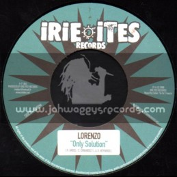 "Irie Ites Records-7""-Irie Ites / Perfect + Only Solution / Lorenzo"