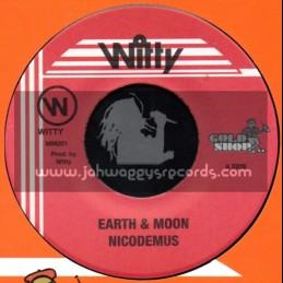 """Witty-7""""-Earth & Moon / Nicodemus"""