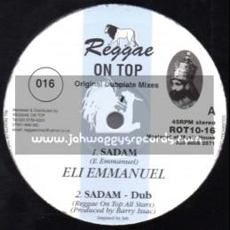 """Reggae On Top-10""""-Sadam / Eli Emmanuel + Soweto / Winston Rose"""
