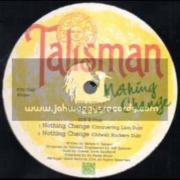 "Sugar Shack Records-12""-Nothing Change / Talisman"