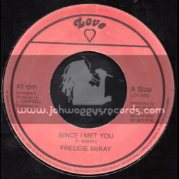 """Love-7""""-Since I Met You / Freddie McKay"""