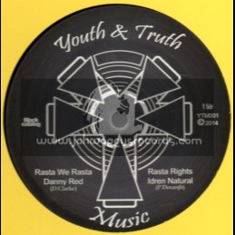 "Youth & Truth Music-12""-Rasta We Rasta / Danny Red + Rasta Rights / Idren Natural"