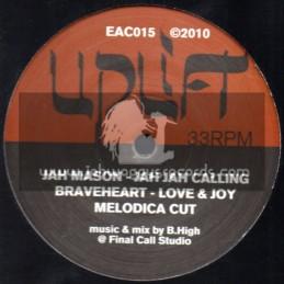 "Uplift Records-12""-Jah Jah Calling / Jah Mason (2010)"