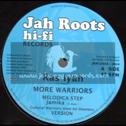 "Jah Roots Hi Fi Records-12""-More Warriors + Give Thanks / Ras Iyah"