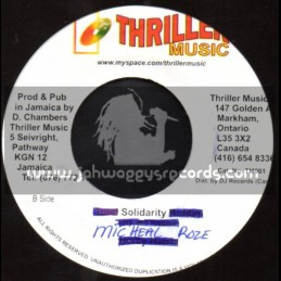 "Thriller Music-7""-Solidarity / Michael Rose"