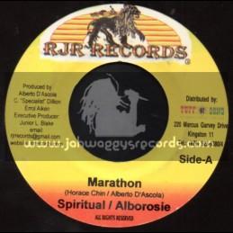 """RJR Records-7""""-Marathon / Spiritual / Alborosie"""