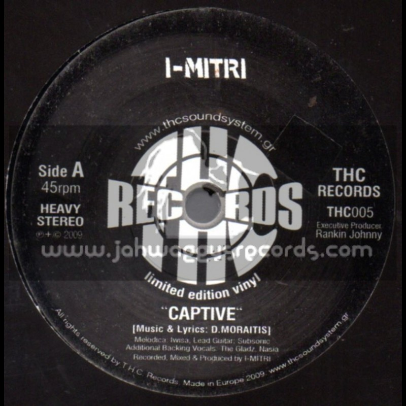 "THC RECORDS-7""-Captive / I-Mitri"