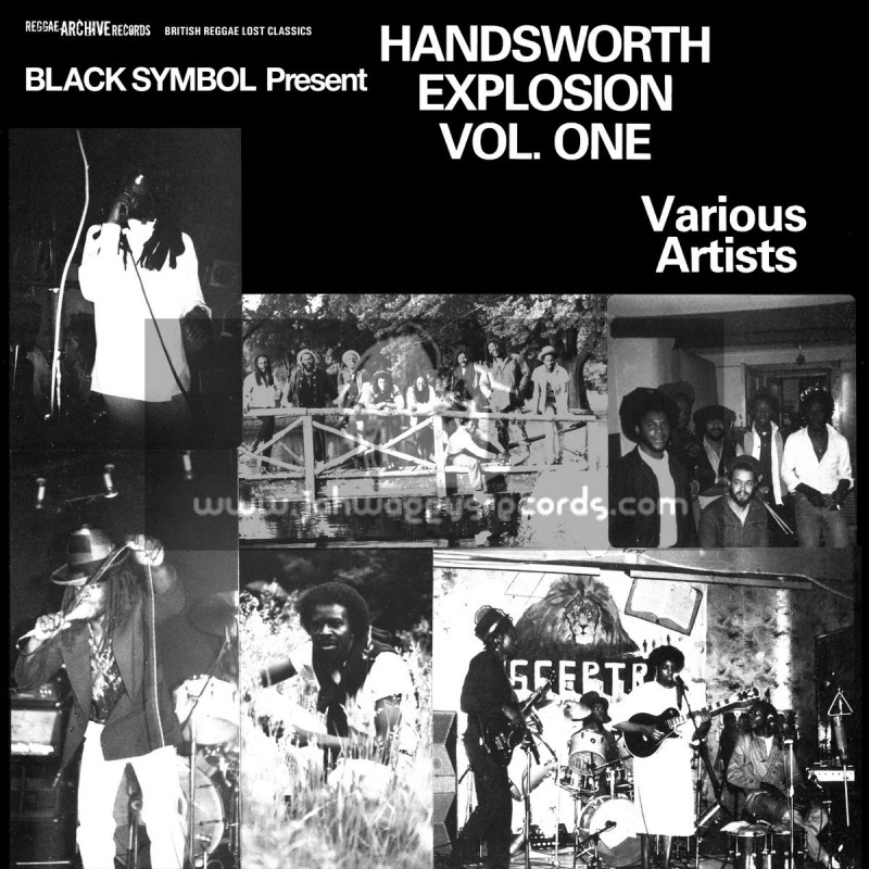 Reggae Archive Records-Lp-Black Symbol Present Handsworth Explosion Vol. One - Various Artists