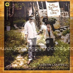 """Log On-10""""-Lp-Can Better Really Come / Martin Campbell & Hi-Tech Roots Dynamics"""