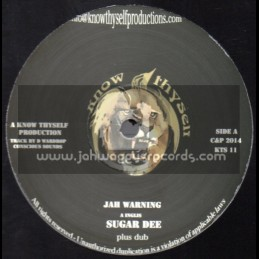 "Know Thyself-10""-Jah Warning + Babylon / Sugar Dee"