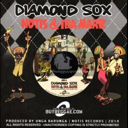"""Notis Records-7""""-Diamond Sox / Notis & Iba Mahr"""