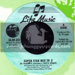 "Life Music-7""-Super Star Mix TP 2 / M Prophet , S Success , J Holt & H Wright"