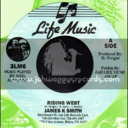 "Life Music-7""-Riding West / James K Smith"