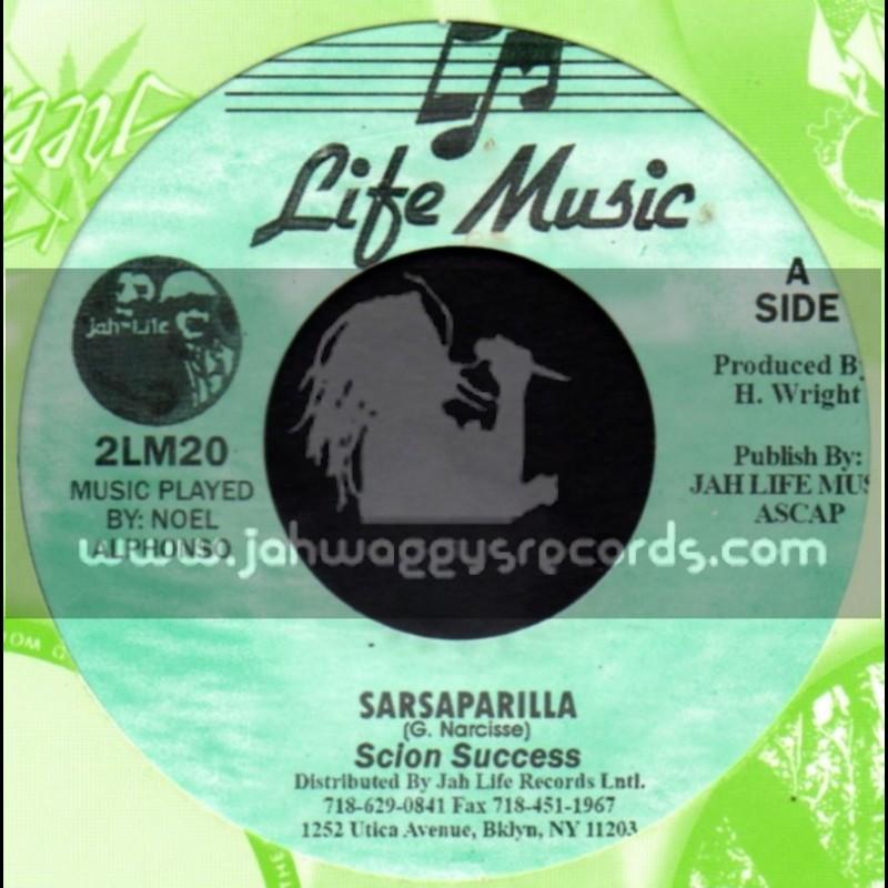 """Life Music-7""""-Sarsaparilla / Scion Success"""