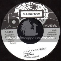 "Black Spider Records-7""-Clean Rasta Dread / David Jahson"