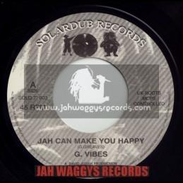 "SOLARDUB RECORDS-7""-JAH CAN MAKE YOU HAPPY / G VIBES"