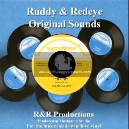 "Ruddy & Redeye Original Sounds-7""-Try Try / Selah Collins"